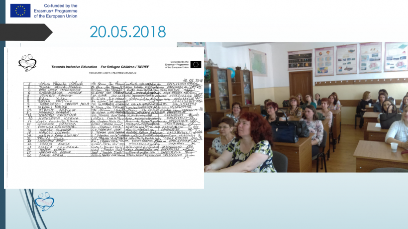 Presentations at teacher's meetings by Dolj County School Inspectorate